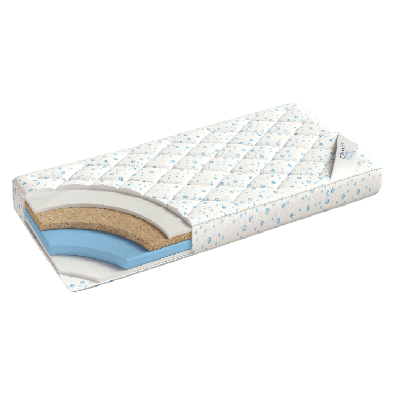 наматрасник Foam-Coco, ортопедический наматрасник, тонкий матрас, матрас на диван, ортопедический наматрасник на кровать.