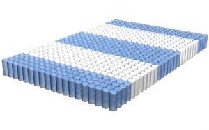 зональный блок, пружинный матрас с зональным блоком