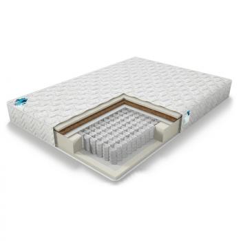 Практик Лайт Базис 500, ортопедический матрас, пружинный матрас, матрас для спальни, двусторонний матрас, матрас с независимыми пружинами