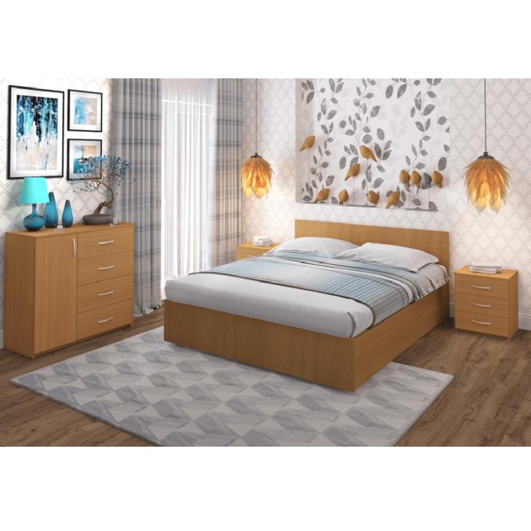 Кровать Рено 2 бук-255 Промтекс-Ориент