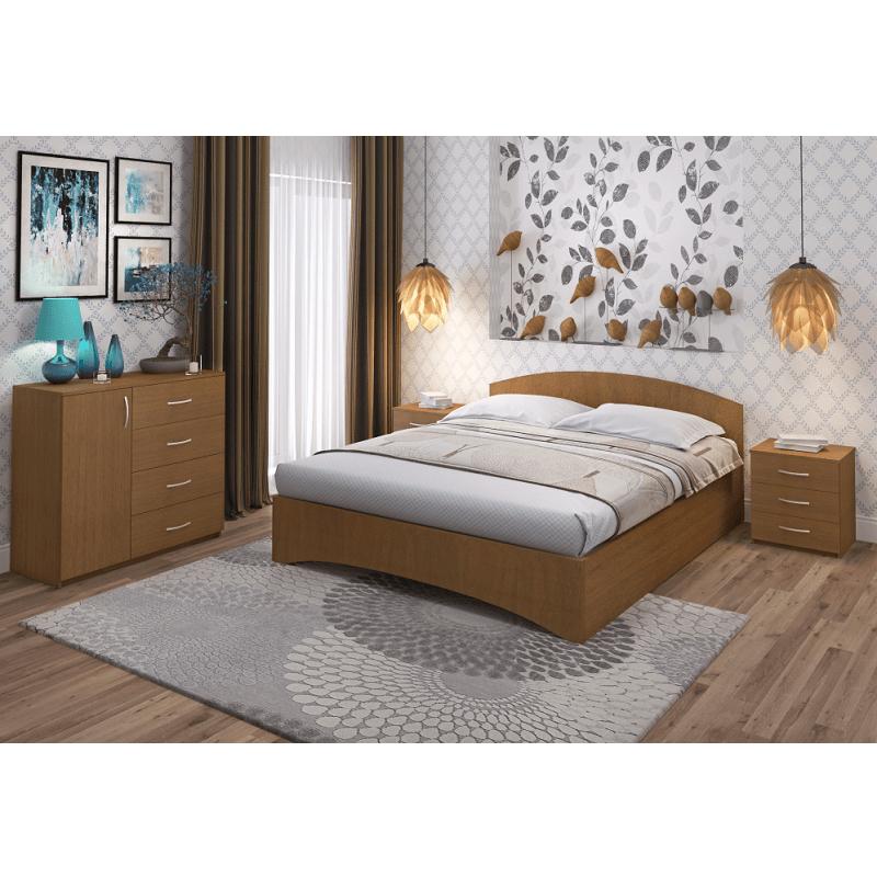 Кровать Рено 1 Промтекс-Ориент ноче гварнери