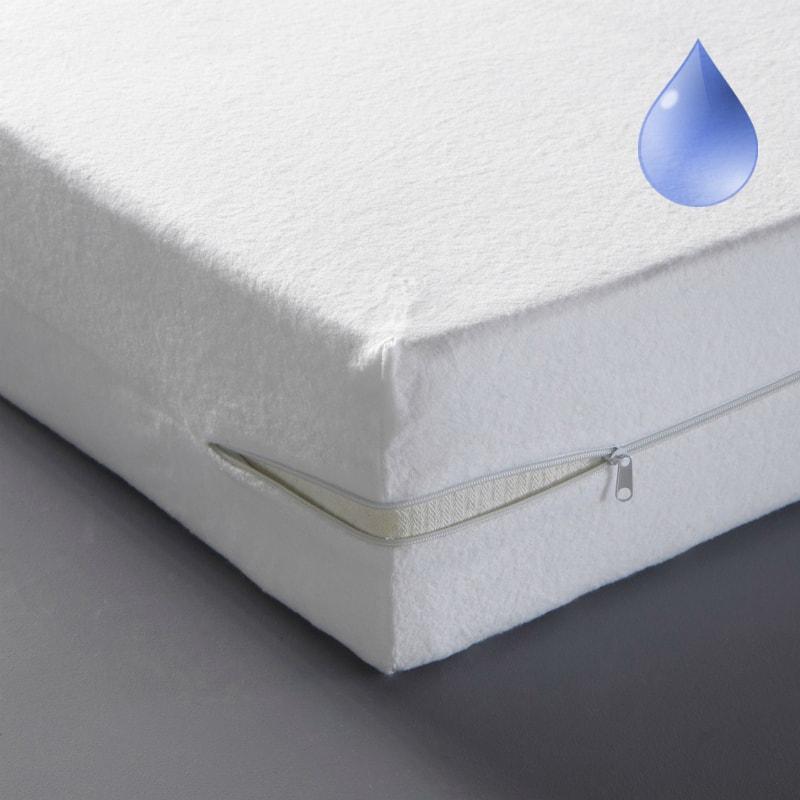 чехол Lonax Jaklyn Aqua, водонепроницаемый чехол на матрас, непромокаемый чехол на матрас, чехол на матрас на молнии, съемный чехол на матрас