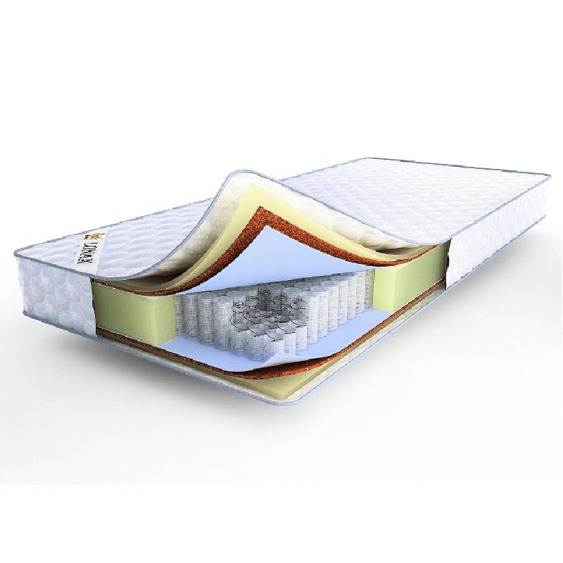 Lonax ППУ Cocos TFK, ортопедический матрас, матрас Lonax, матрас средней жесткости, матрас 20 см